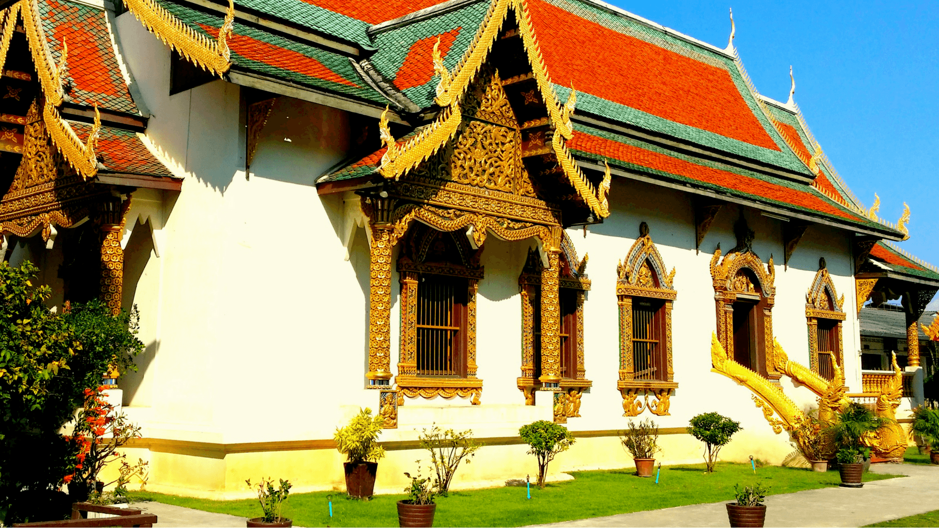 Temples of Chiang Mai Thailand