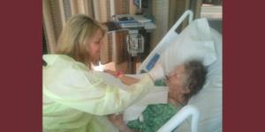 Feeding Mom at Hospital